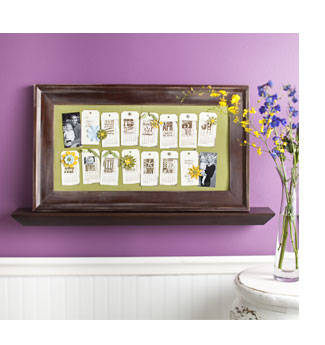 Delightful dates frame