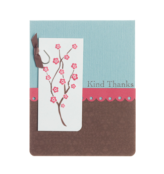 Kind Thanks Card