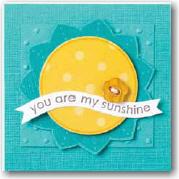 Winter sunshine card