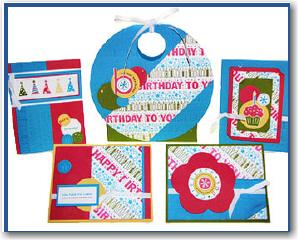 Birthday Wheel Builder Card Set