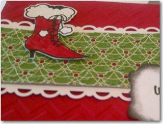 CCard Class 1 2012 Shoe Card